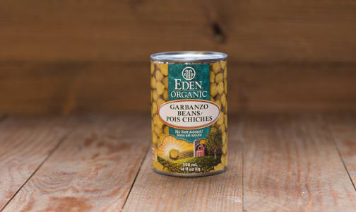 Organic Garbanzo Beans - BPA Free- Code#: BU432