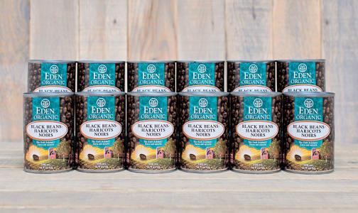 Organic Black Beans - BPA Free - CASE- Code#: BU433-CS