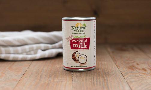 Organic Lite Coconut Milk (BPA & Gum Free)- Code#: BU452