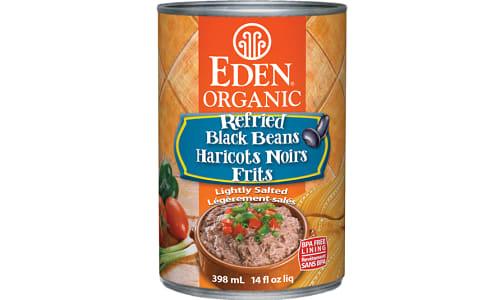 Organic Refried Black Beans- Code#: BU457