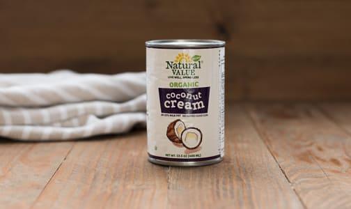 Organic Coconut Cream - No stabilizers, emulsifiers, whiteners or guar gum- Code#: BU478
