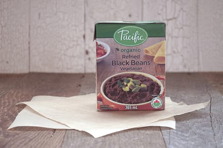 Organic Refried Black Beans- Code#: BU780