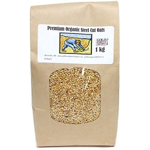 Organic Steel Cut Oats- Code#: BU8015