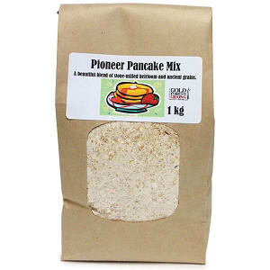 Organic Pancake Mix with Golden Flax- Code#: BU8016