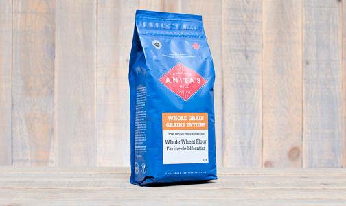 Organic Stoneground Whole Wheat Flour- Code#: BU857