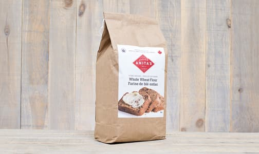 Organic Stoneground Whole Wheat Flour - Fine Grind- Code#: BU858