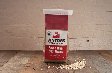 Organic Seven Grain Hot Cereal- Code#: BU871