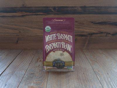 Organic White Basmati Rice- Code#: BU904