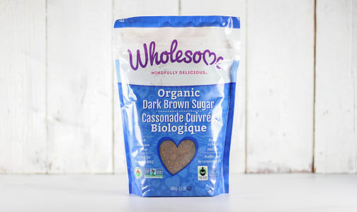 Organic Fair Trade Dark Brown Sugar- Code#: BU907