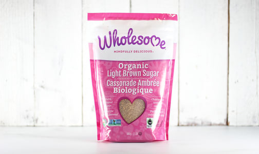 Organic Light Brown Sugar- Code#: BU908