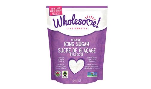 Organic Fair Trade Icing Sugar- Code#: BU909