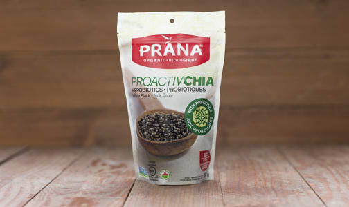 Organic ProactivChia Seeds, Whole Black- Code#: BU929
