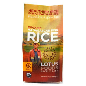 Organic Madagascar Pink Rice- Code#: BU934