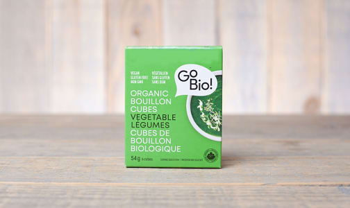 Organic Vegetable Bouillon Cubes- Code#: BU941