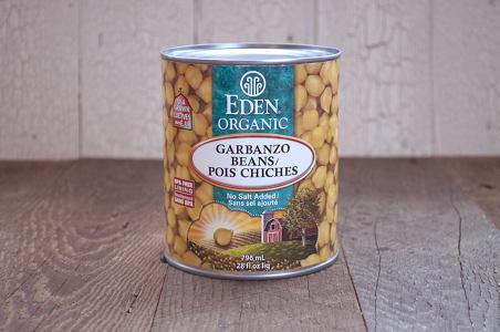 Organic Garbanzo Beans - BPA Free- Code#: BU954