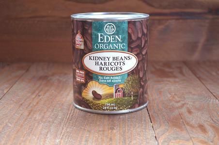 Organic Kidney Beans - BPA Free- Code#: BU955
