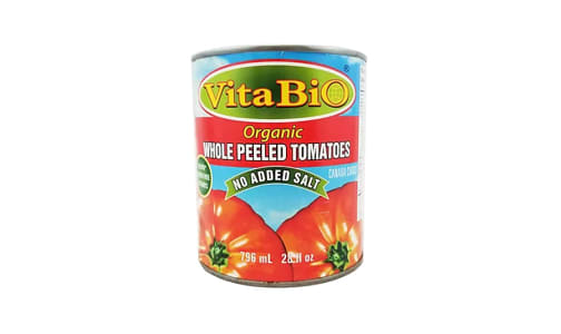 Organic Whole Tomatoes- Code#: BU9902