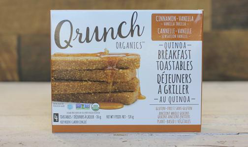Organic Quinoa Toastable Cinnamon Vanilla- Code#: CE0035