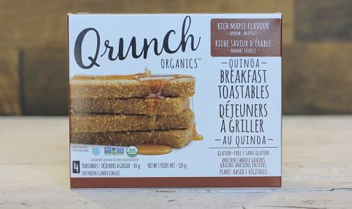 Organic Quinoa Toastables Maple Flavour- Code#: CE0036