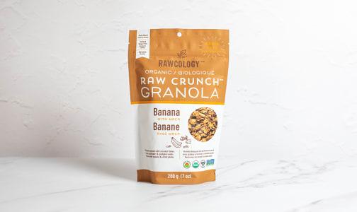 Organic Banana Raw Crunch Granola- Code#: CE0052