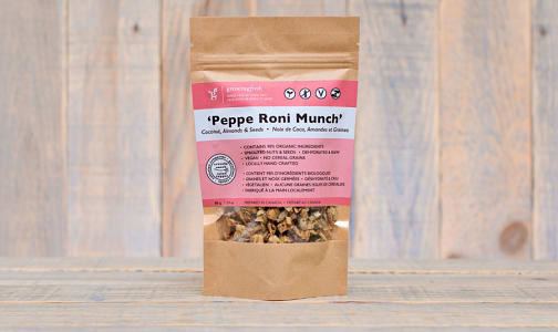 Peppe Roni Munch - Crunchy Coconut & Seed Clusters- Code#: CE0057