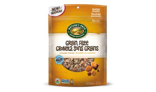 Organic Grain Free Caramel Pecan Granola- Code#: CE0063