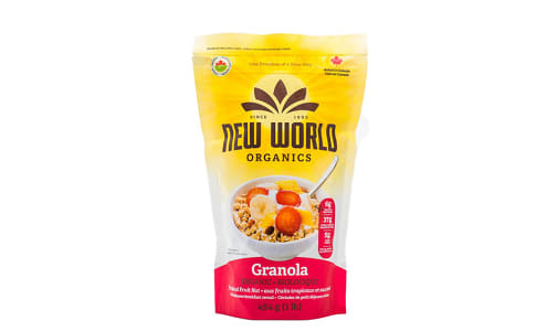 Organic Tropical Fruit Nut Granola- Code#: CE0071