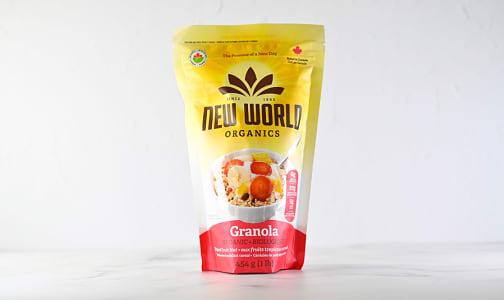 Organic Tropical Fruit Nut Granola- Code#: CE0071