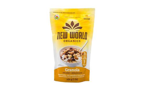 Organic Almond Cashew Granola- Code#: CE0072