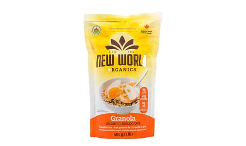 Organic Pumpkin Flax Granola- Code#: CE0073