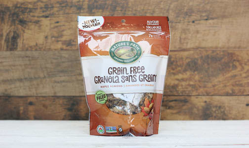 Organic Grain Free Maple Almond Granola- Code#: CE0075