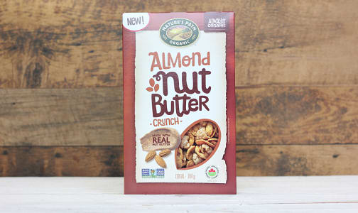 Organic Almond Nut Butter Crunch- Code#: CE0077