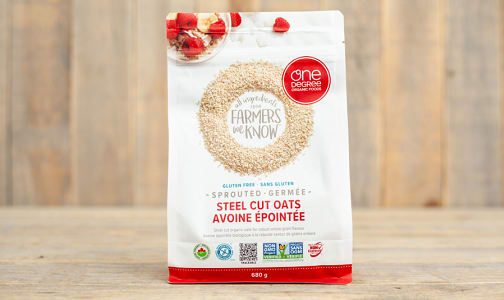 Organic Sprouted Steel Cut Oats- Code#: CE0082