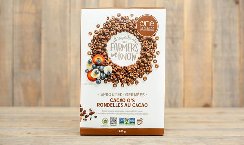 Organic Sprouted Cacao O's- Code#: CE0083