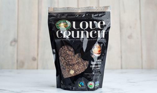 Organic Love Crunch Espresso Vanilla Cream- Code#: CE0089