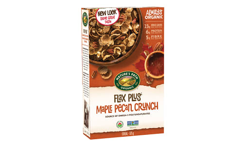 Organic Flax Plus Maple Pecan Crunch- Code#: CE015