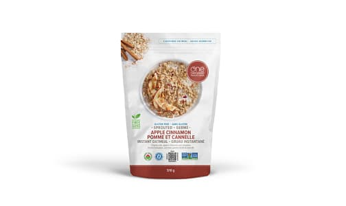 Organic Sprouted Oatmeal, Apple Cinnamon- Code#: CE0164