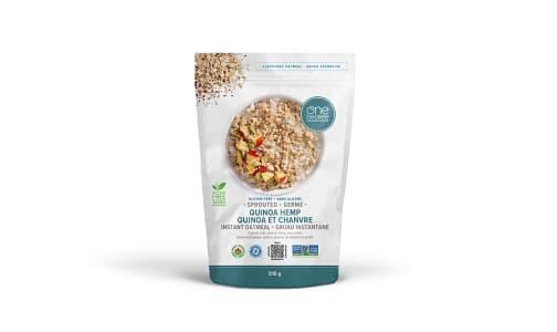 Organic Sprouted Oatmeal, Quinoa Hemp- Code#: CE0168