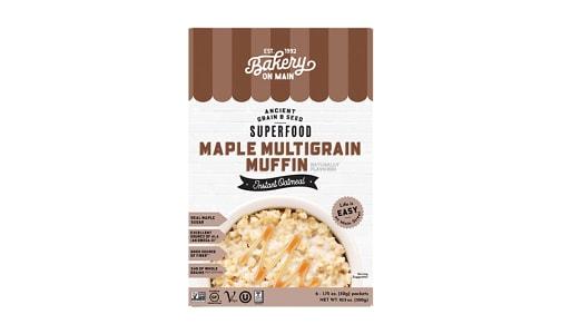 Instant Hot Cereal - Maple Multigrain Muffin- Code#: CE0207