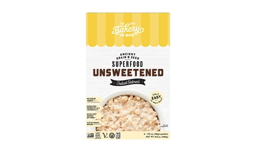 Instant Hot Cereal - Traditional- Code#: CE0208