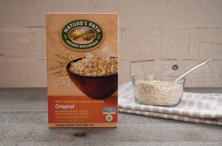 Organic Original Instant Hot Oatmeal - Sugar-Free- Code#: CE025