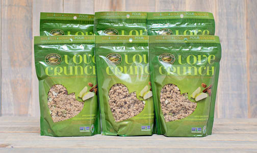 Organic Love Crunch Granola - Apple Crumble - CASE- Code#: CE026-CS