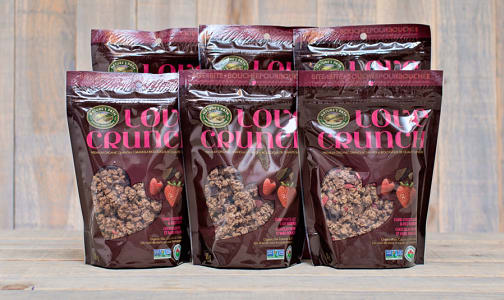 Love Crunch Dark Chocolate and Berry Granola - CASE- Code#: CE027-CS