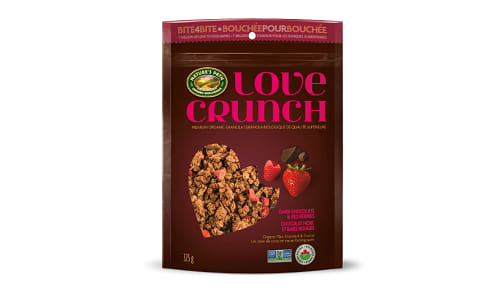 Love Crunch Dark Chocolate and Berry Granola- Code#: CE027