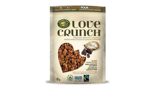 Organic Love Crunch Granola - Macaroon- Code#: CE030