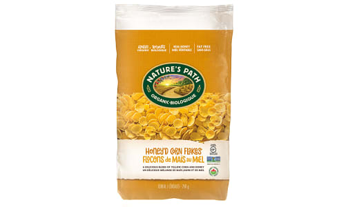 Organic Honey Corn Flakes, Eco-Pac- Code#: CE107