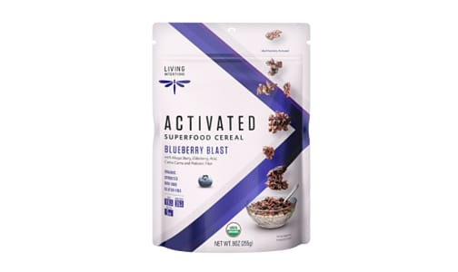 Organic Superfood Cereal - Blueberry Blast, w/Live Cultures- Code#: CE1220