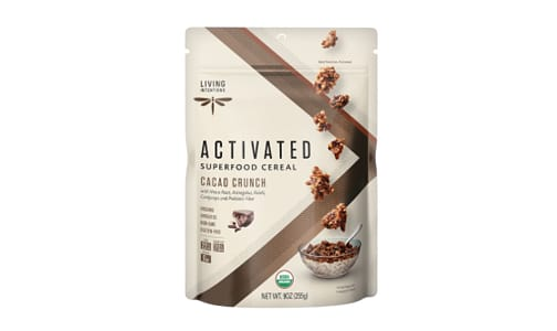 Organic Superfood Cereal - Cacao Crunch, w/Live Cultures- Code#: CE1221