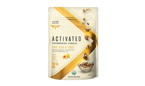 Organic Superfood Cereal - Figs, Flax & Fiber, w/Live Cultures- Code#: CE1222