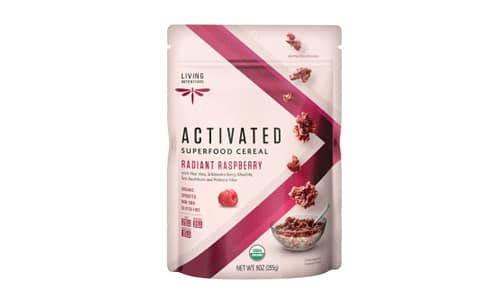 Organic Superfood Cereal - Radiant Raspberry, w/Live Cultures- Code#: CE1223